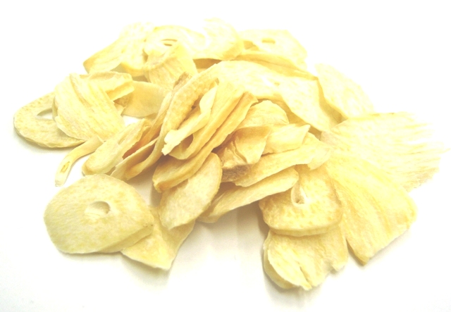 にんにく九州ナンバーワン。熟成黒にんにく、にんにく自社・契約生産加工品及び九州の野菜の卸販売:乾燥にんにくスライス